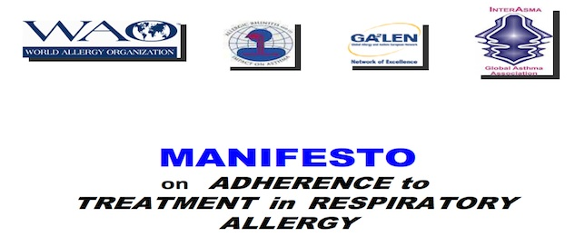 Manifesto on Adherence to Treatment in Respiratory Allergy